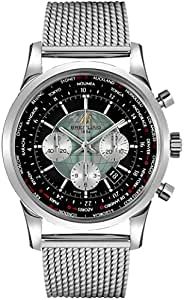 Breitling Transocean Chronograph Unitime Men's Watch AB0510U4/BB62-159A