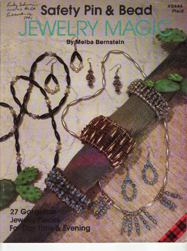 Safety Pin & Bead Jewelry Magic (27 Patterns)