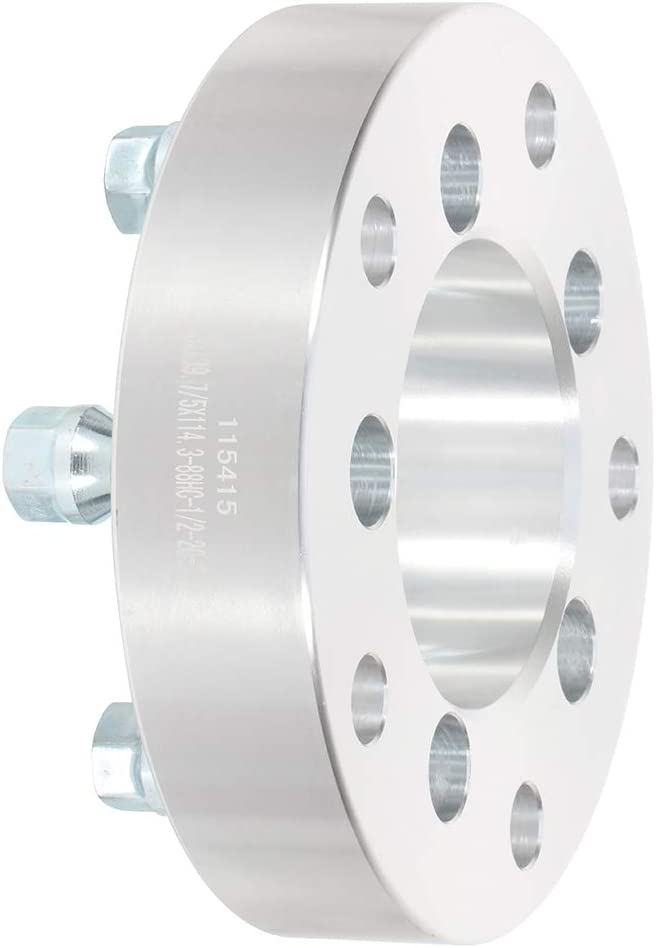 SCITOO 1//2 Studs 1.5 inch Wheel Spacers Adapters 5x5.5 to 5x4.5 5x139.7mm to 5x114.3mm 38mm Compatible with Ford F-100 F-150 E-100 Econoline Dodge Ramcharger