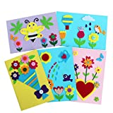 Card Making Kits DIY Handmade Greeting Card Kits for Kids, Christmas Card Folded Cards and Matching Envelopes...