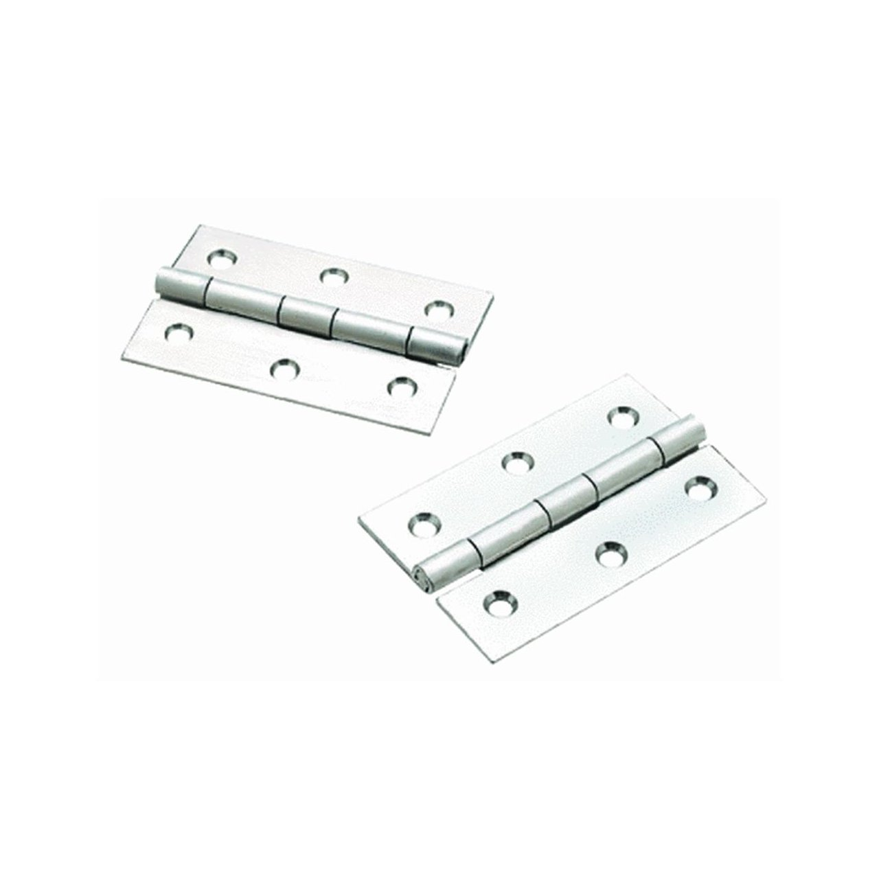 SEACHOICE Prod 34911 Extruded Butt Hinges Steel 1-5//8 in X 2-1//2 in in