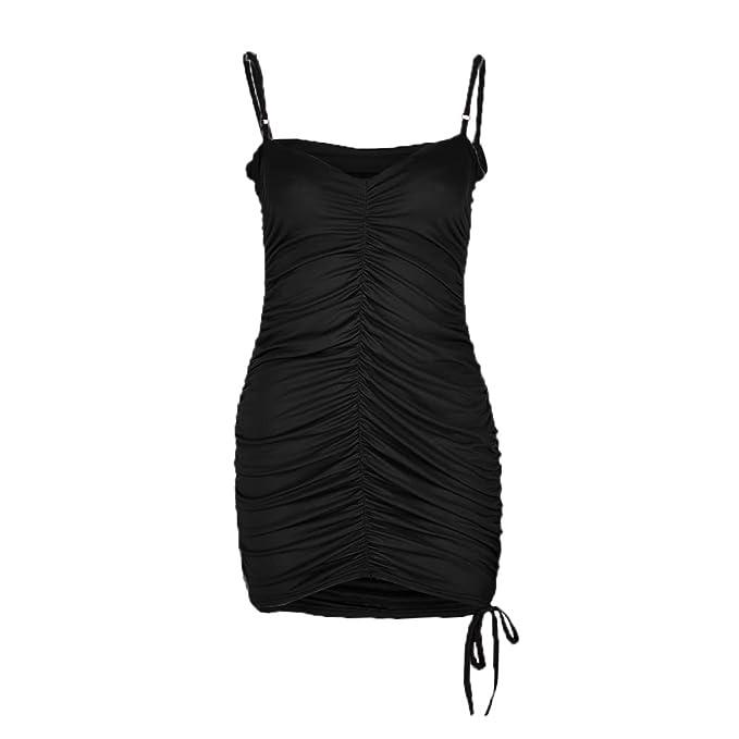 Amazon.com: Vestido para mujer, casual, sexy, de encaje ...