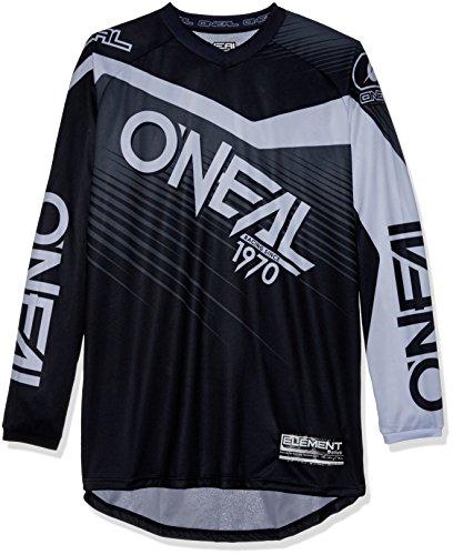 O'neal Fuoristrada Racewear Enduro Nero Mx Quad Maglia Cross Motocross Jersey Adulti Elemento 0008 6rnq05w6