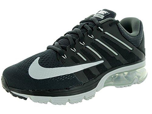 Nike Womens Air Max Excellerate 4 Black/White/Dark Grey Running Shoe 7 Women US, Black/White/Dark Grey, 38 B(M) EU/4.5 B(M) UK