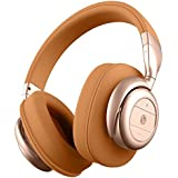 BÖHM Wireless Bluetooth Over Ear Cushioned Headphones with Active Noise Cancelling - B76 (Tan)