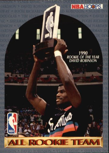 1990 Nba Card Rookie Of The Year David Robinson At Amazons Sports