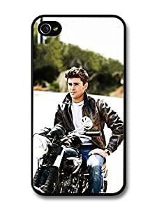 Zac Efron Motorbike Photoshoot case for iPhone 4 4S A1290