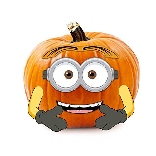 Despicable Me Minions Wood Pumpkin Push-In
