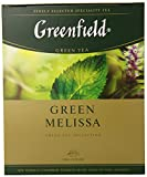 Greenfield Tea, Green Melissa, 100 Count Review