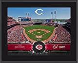 "Cincinnati Reds 10"" x 13"" Sublimated Team Stadium Plaque - Fanatics Authentic Certified - MLB Team Plaques and Collages"