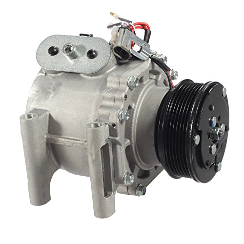 AUTEX AC Compressor and A/C Clutch CO 4910AC 1521182 77561 TEM275517 275517 Replacement for Buick Rainier 2004 2005 2006 2007/Chevrolet Trailblazer & GMC Envoy 2002 2003 2004 2005 2006 2007 2008 2009