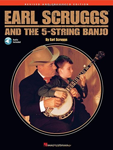 EARL SCRUGGS AND THE FIVE STRING BANJO (CD EDITION) BJO BOOK/CD by Various Pap/Com Edition (2005)