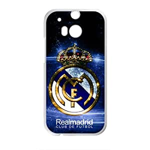 Realmadrid Fashion Comstom Plastic case cover For HTC One M8