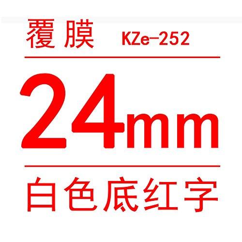 ETbotu Label Ribbon PT-P700 Label Printer Number Machine Pasters 24mm Stickers Label Ribbon