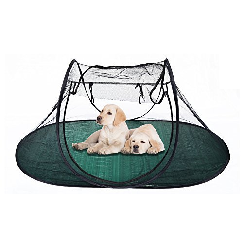 BenefitUSA 4.4″x35.5″x31″ Portable Pet Fun House Cat Dog Playpen Exercise Tent with Carry Bag Review