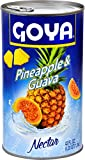 Goya Foods Nectar, Pineapple & Guava, 42 Ounce (Pack of 12)