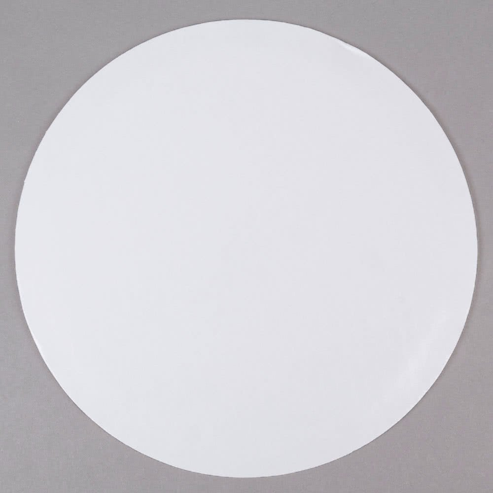 16 White Corrugated Cake Board Circles – 125 per case 16CRC Vineland Packaging Corp.