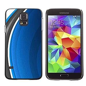 Licase Carcasa protectora - Abstract Blue - Samsung Galaxy S5