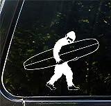 Surfing Sasquatch Longboard Bigfoot Yeti - No