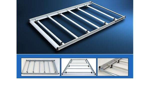 autorack aluminio Baca Van Roof – para Renault Traffic SWB (techo bajo con doble puertas traseras) AR1: Amazon.es: Coche y moto