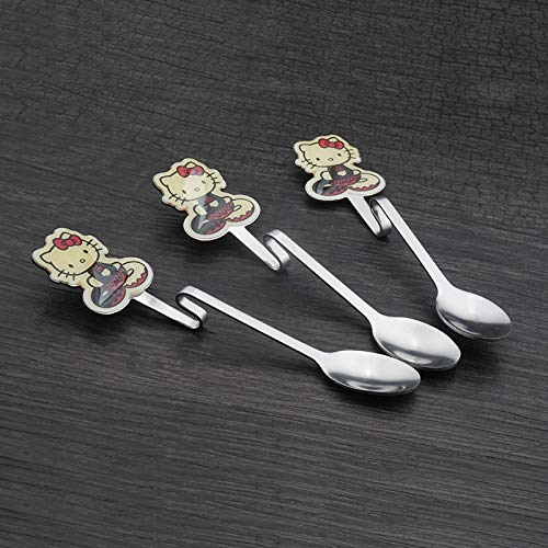 - Stainless Ladle - 1pc Hello Kitty Dinnerware Teaspoons Soup Ladle Kids Tableware Stainless Steel Hanging Spoons 8d - Spoon Hello Hanging Strainer Kitty Ware Stainless Ladle Metal Steel Soup