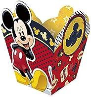 Regina Cachepot Peq Fa R276 Mickey Classico Pacote De 8 unidades