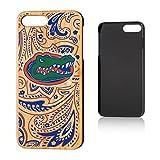 Keyscaper NCAA Florida Gators KBAM7X-0FLA-PAISL1 Apple iPhone Bamboo Case, iPhone 8 Plus/7 Plus, Wood
