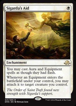 Magic: the Gathering Sigarda39;s Aid (041/205) - Eldritch Moon ()