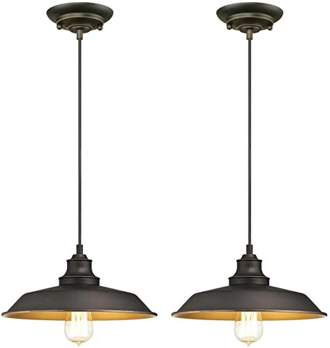 Ciata Lighting Iron Hill One-Light Indoor Pendant