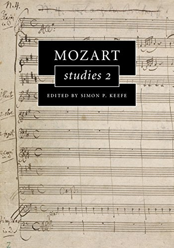 Download Mozart Studies 2 (Cambridge Composer Studies) Pdf
