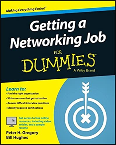 getting a networking job for dummies peter h gregory bill  getting a networking job for dummies 1st edition