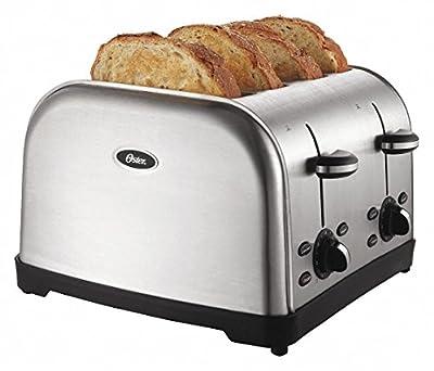 Toaster, 4-Slot, 120/127V, Stainless Stee