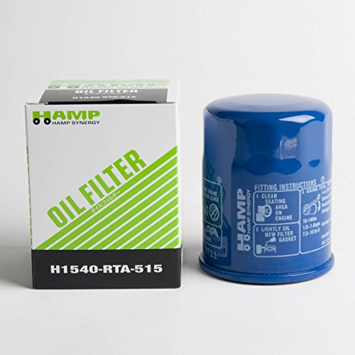Price comparison product image Hamp Synergy OEM High Performance Honda Oil Filter H1540-RTA-515 QTY=1 Large