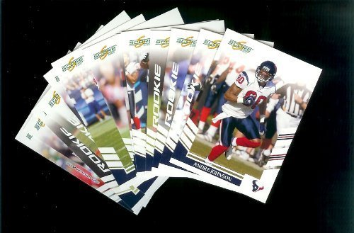 Houston Texans Football Cards - 3 Years of Score Complete Team Sets 2006,2007, 2008 - Includes Stars, Rookies & More - Individually Packaged!