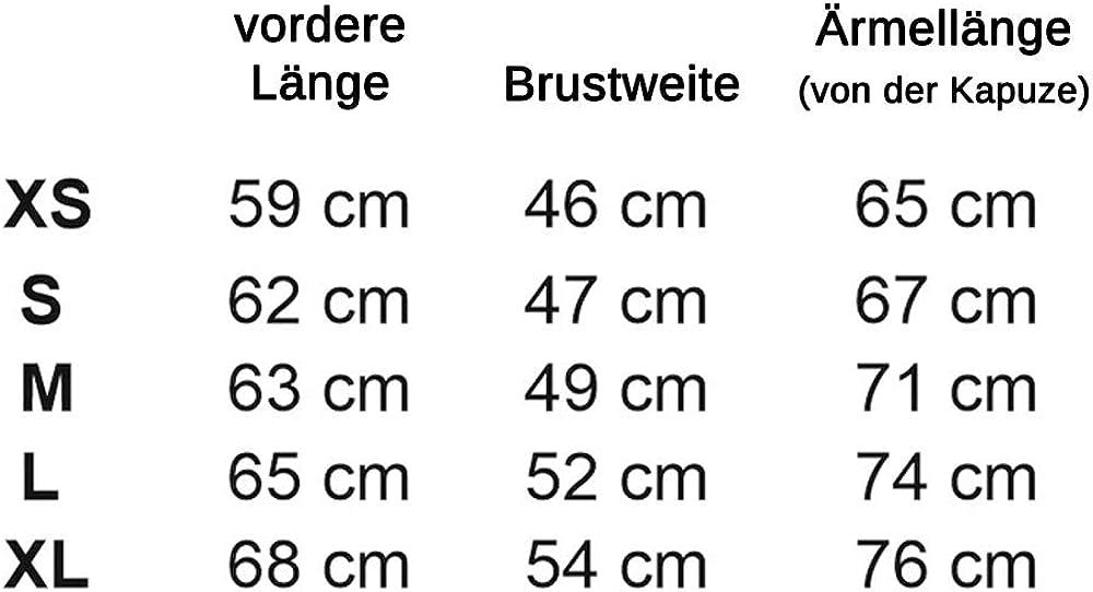 ROUGH RADICAL Damen Kapuzenjacke Sweatjacke Kapuzenpullover Attractive Hoodie Schwarz