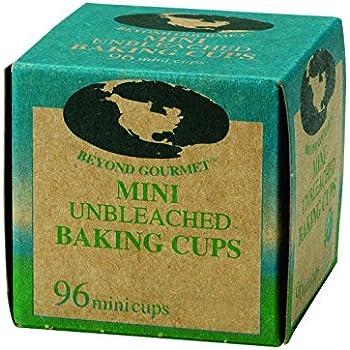 Beyond Gourmet Unbleached Non-Stick Mini Baking Cups, 96 Count