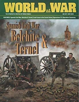 DG: World at War Magazine #62, con batallas de Guerra Civil españolas, Belchite, Teruel y Alfambra, Juegos de Mesa: Amazon.es: Juguetes y juegos