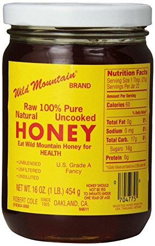Coles Wild Mountain Honey, 16 oz