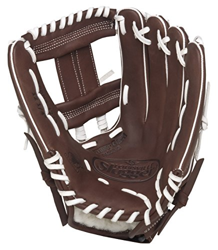 Louisville Slugger FGXPBN5 Xeno Pro Brown Fielding Glove, 12-Inch, Right Hand Throw ()