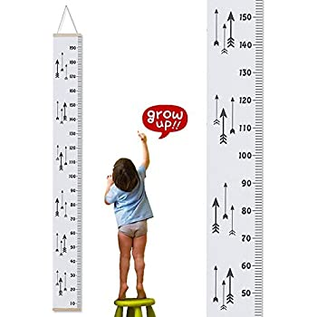 Amazon Growth Chart For Kids Baby Height Wall Hanging Ruler