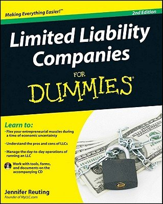 Download Limited Liability Companies for Dummies [With CDROM]   [LTD LIABILITY COMPANIE-2E W/CD] [Paperback] PDF
