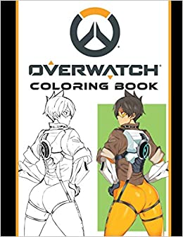 Overwatch Coloring Book Nathan Spencer 9781718001091 Amazon Com