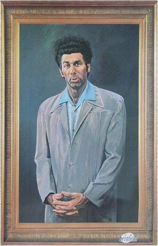 Pyramid Seinfeld Kramer Wall Poster