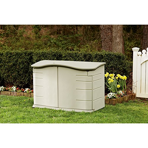 Review Rubbermaid Horizontal Storage Shed,