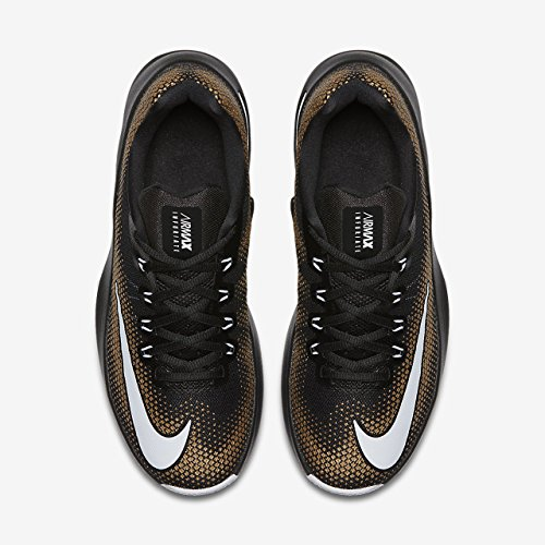 Infuriate Black Metallic Air Hombres Max Low Gold Size 7 W1cgnEnx
