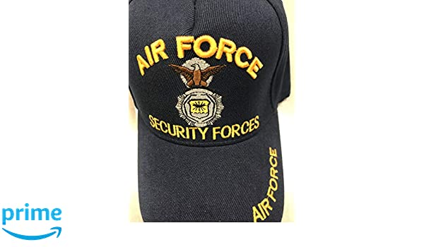 Security Forces Air Force Cap/Hat, New one Size Dark Blue at Amazon