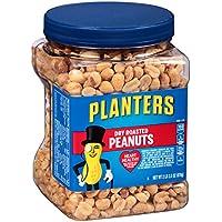 3-Pack Planters Dry Roasted Peanuts (34.5 oz jar)