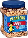 Planters Dry Roasted Peanuts, 3 Count