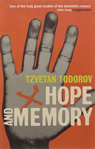 Hope And Memory: Reflections on the Twentieth Century