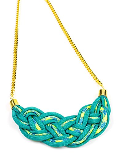 Cousin Paracord Kit, Teal Necklace (Turquoise Plastic Necklace)